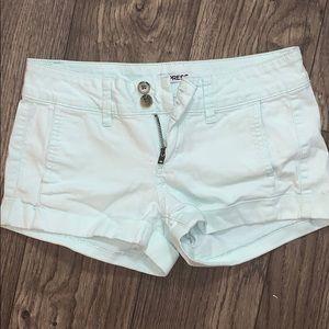 LIGHT BLUE express shorts